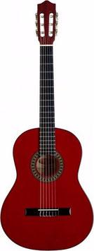 Chitarra classica 4/4 Stagg colore rosso satin