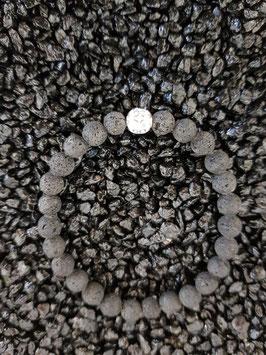 Armband Lava mit 1 Silberteil