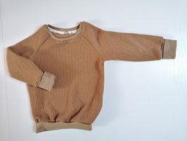 "Cozy Sweater * Grobstrick ""Karamell"""