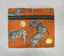Nähpaket 'Blusenshirt orange Zebra'