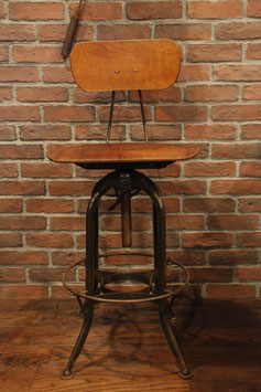 TOLEDO DRAFTING STOOL  W/BACK