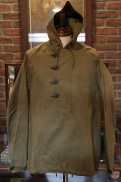 1940's  DEAD  STOCK  US  NAVY  DECK  HOOK  RUBBER  PARKA