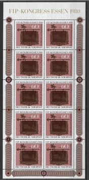 Bund Kleinbogen 1065 postfrisch
