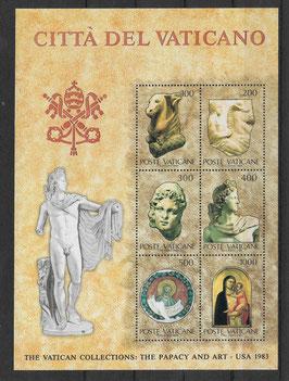 Vatikan Block 6 postfrisch (2)