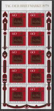 Deutschland Kleinbogen 1023 postfrisch