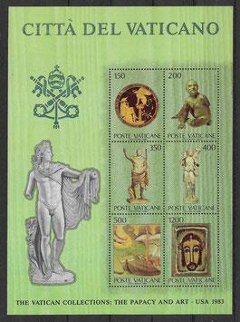 Vatikan Block 7 postfrisch (2)