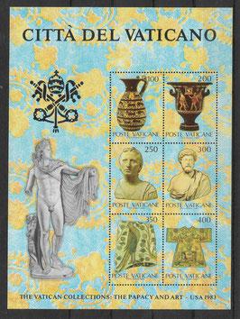 Vatikan Block 5 postfrisch (2)