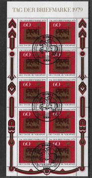 Deutschland Kleinbogen 1023 gestempelt