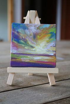 "Mini Gemälde ""Landschaft"
