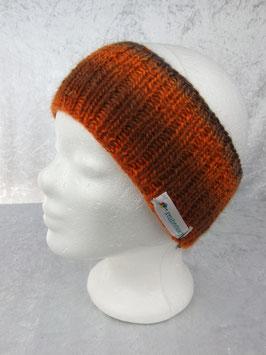 Stirnband in warmen Herbstfarben