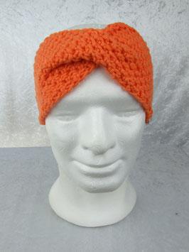 Twist-Stirnband in orange