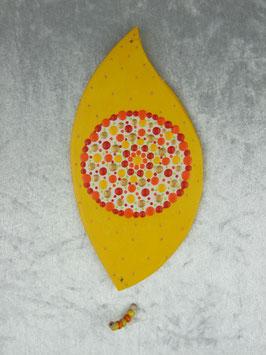 Hoffnungsflügel in gelb, rot, orange und weiß