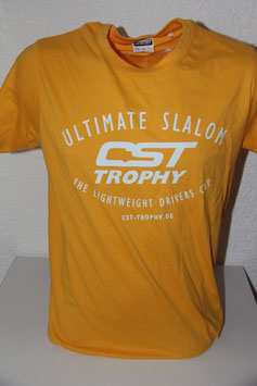 "CST-T-Shirt ""ULTIMATE SLALOM"" gelb"