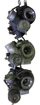 Konvolut von 3x Garrett Turbolader  leichtes Wellenspiel Saab 9.5 YS3E