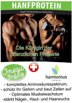 Sportler Hanfprotein 500g - 55+% Protein