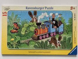 """Ravensburger Puzzle """"Der Maulwurf als Lokführer"""""""