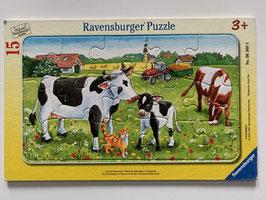 """Ravensburger Puzzle """"Auf der Kuhweide"""""""