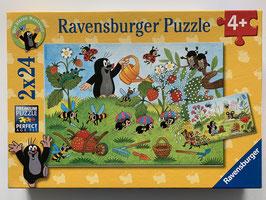 """Ravensburger Puzzle """"Der Maulwurf im Garten"""""""