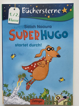 "Büchersterne ""Super Hugo"" 1./2. Klasse"