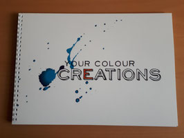 Schetsboek Your Colour Creations A4 - 120 gr