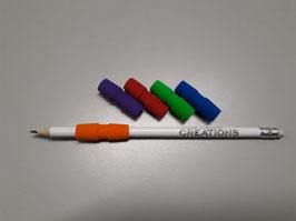 Pencil Grip gekleurd - 5 stuks