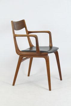Armlehnenstuhl, Boomerang Chair von  Alfred Christensen für Slagelse Møbelværk, Modell 370