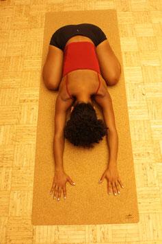 Yoga Mat / cork textile