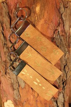 Schlüsselanhänger hellbraun