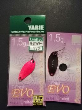 Yarie T-fresh evo 1,5g y73 Rückseite schwarz