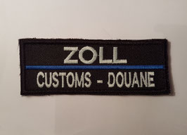 "Patch ""ZOLL International Thin-Blue-Line"""