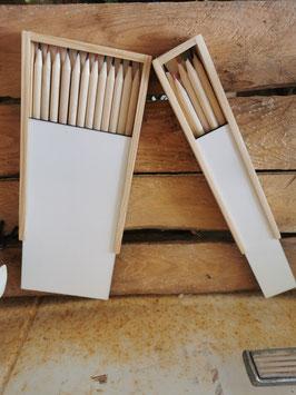 Buntstiftdose Holz
