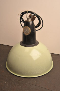 green industrial lamp cccp