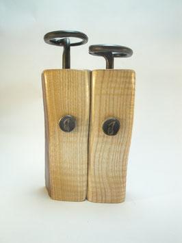 Pfeffermühlen  Salzmühlenset geriegelte Olivesche mit Kurbel