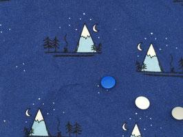 Jersey Berge blau