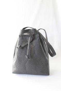 Custom piñatex bucket bag