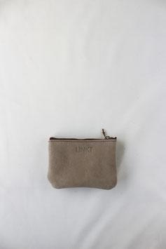 Zipper pouch light grey