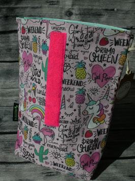 Lunchbag -  Girlpower/Pink-Mint