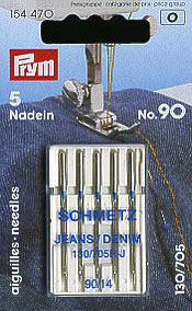 Nähmaschinen Nadel Jeans