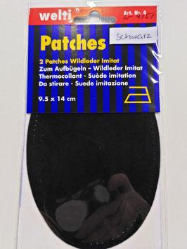 Patches Wildleder Imitat