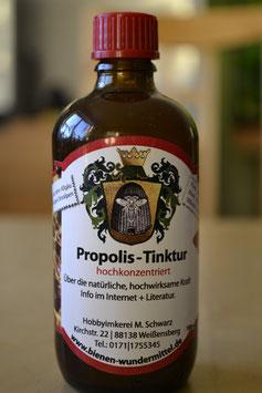 Propolis-Tinktur 40 % hochkonzentriert alkohol, mit Kräutern , Arnika und Melisse vesetzt