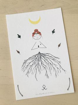 Carte Nenette Druidesse Blanche Version 2021