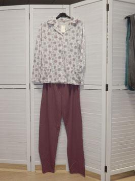 Damen Schlafanzug Jacke und Hose