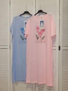 Damen Nachthemd mit Blumenprint