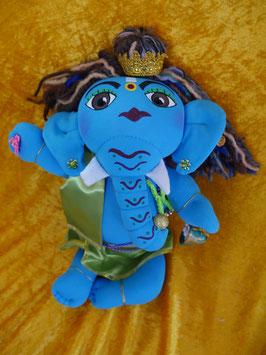 Ganesha (49  hellblau)