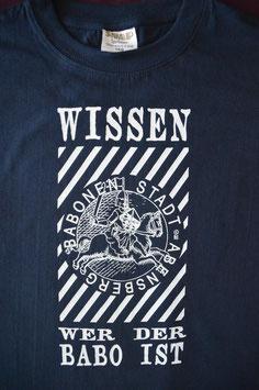 """Shirt Nr. 66  -----Unisex Größe L. """"Babo"""" war das Jugendwort 2013 (Langenscheidt-Verlag)"""
