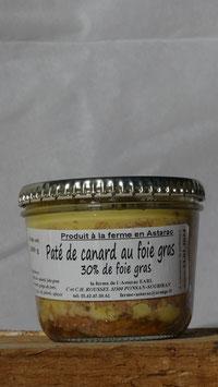 Pâté au foie gras de canard (30% de foie gras)