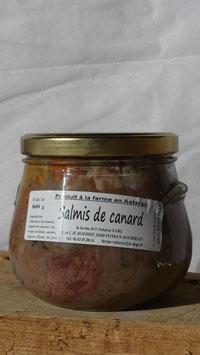 Salmis de canard (Civet flambé à l'Armagnac)