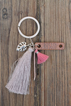 Schlüsselanhänger blessed