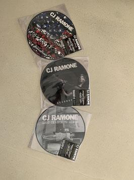 CJ RAMONE PICTURE DISC BUNDLE