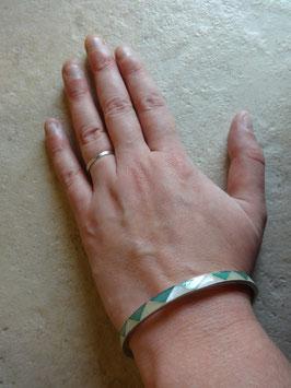 Bracelet nacre graphique